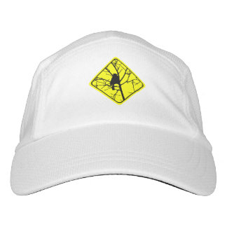 Chickadee Warning Sign Love Bird Watching Hat
