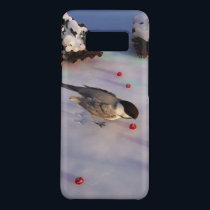 Chickadee Winter Galaxy Case