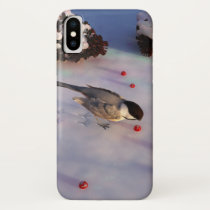 Chickadee Winter iPhone Case
