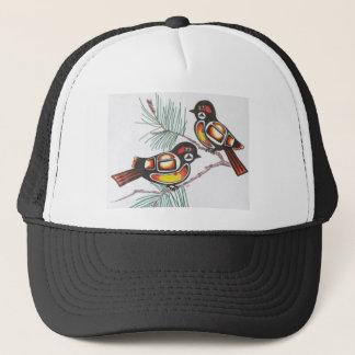 chickadees 1 trucker hat