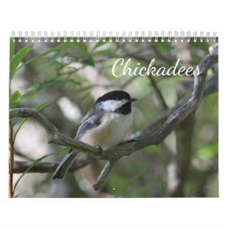 Chickadees Calendar