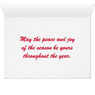 Chickadees, Season's greetings Card