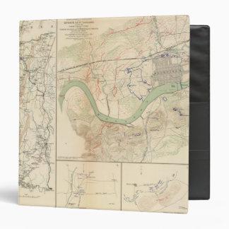 Chickamauga campaign, Knoxville 3 Ring Binder
