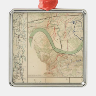 Chickamauga campaign, Knoxville Metal Ornament
