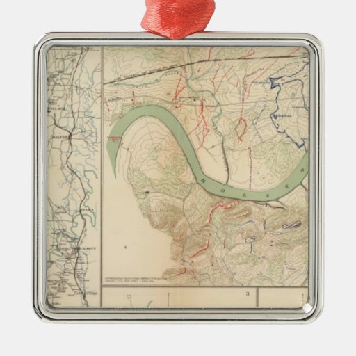 Chickamauga campaign, Knoxville Ornament
