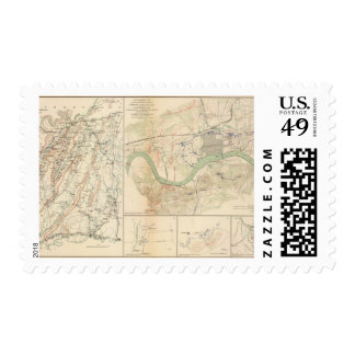 Chickamauga campaign, Knoxville Postage Stamps