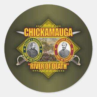 Chickamauga Classic Round Sticker