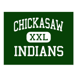 Chickasaw - Indians - Junior - Memphis Tennessee Postcard