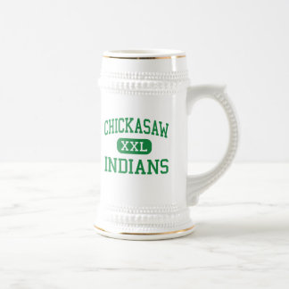 Chickasaw - indios - joven - Memphis Tennessee Jarra De Cerveza