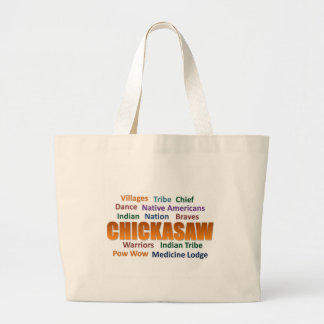 Chickasaw Nation Large Tote Bag