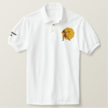 Chickasaw  S.A. Embroidered Polo Shirt