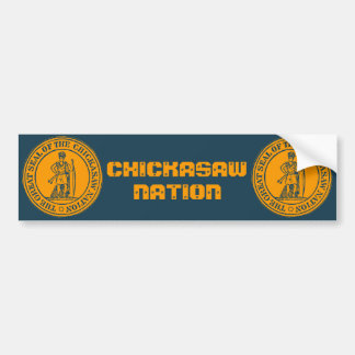 Chickasaw Seal Bumper Stickers