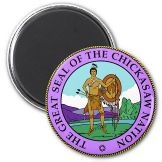 Chickasaw Seal Magnet
