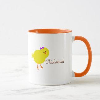 Chickattude mug