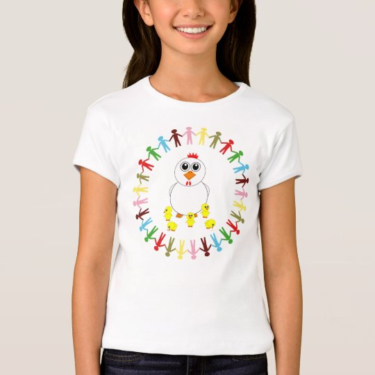 CHICKEN AND BABY CHICKS T-Shirt