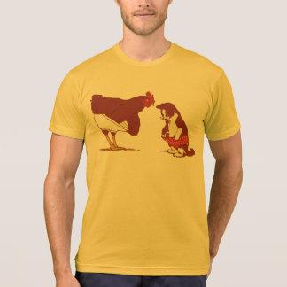 Chicken And Cat Panties T-Shirt