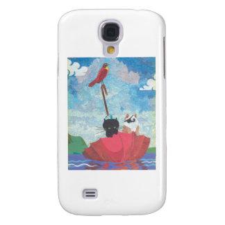 Chicken and Cricket Collage Samsung S4 Case