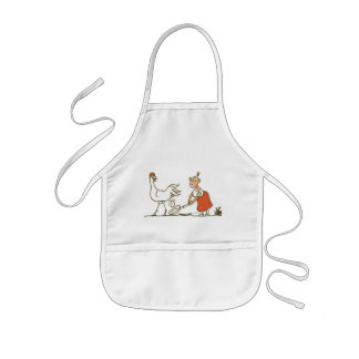 Chicken and Egg Kids' Apron