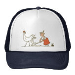 Chicken and Egg Mesh Hats