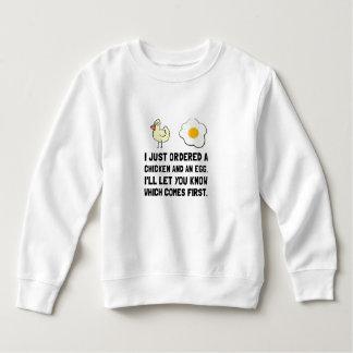 Chicken And Egg Sweatshirt