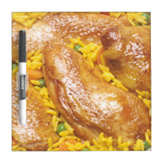 Chicken and Rice Dry-Erase Board
