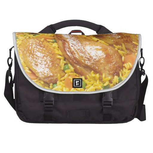 Chicken and Rice Bags For Laptop