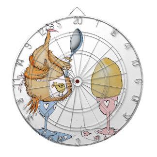 chicken and the egg cartoon, tony fernandes dart boards