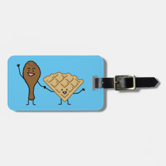 Chicken and Waffles American & Southern Cooking Bag Tag