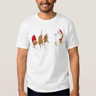 chicken apocalypes t-shirt