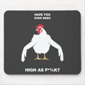 Chicken Arms Mouse Pad