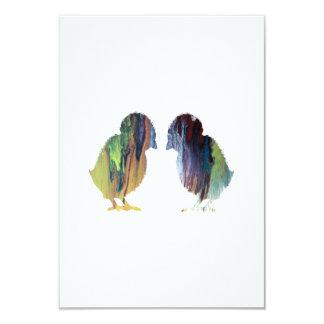 Chicken Art Card