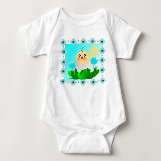 chicken baby bodysuit