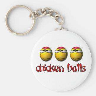 Chicken Balls Keychain