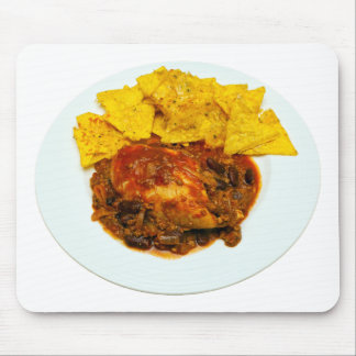 Chicken & Beef Chilli Cheese Nachos Mouse Pad