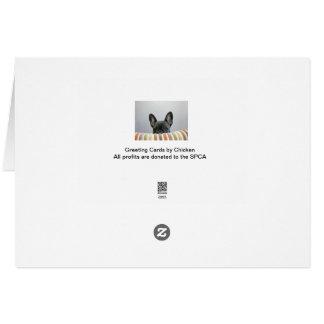 Chicken Birthday Greeting Card