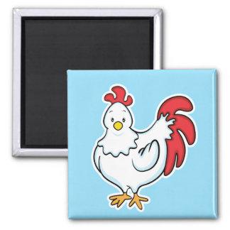 Chicken Blue Magnet