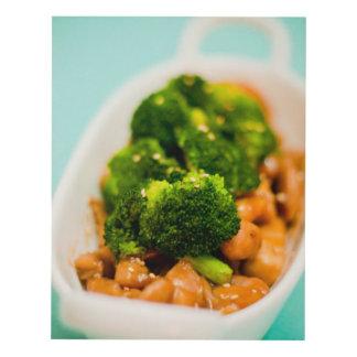 Chicken & Broccoli Panel Wall Art