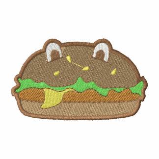 Chicken Burger Embroidered Shirt