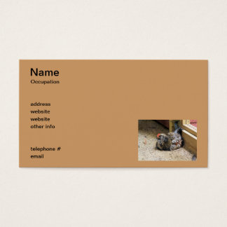 Chicken Business Cards