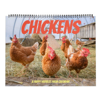 Chicken Calendar-Large Calendar