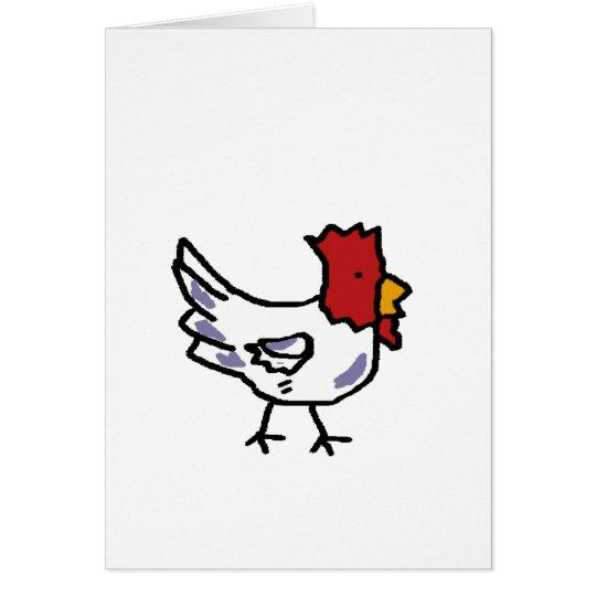 chicken card