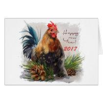 """""""Chicken"""" Card"""