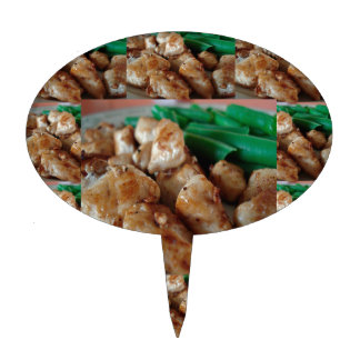 Chicken Chefs American healthy eating food cuisine Cake Topper
