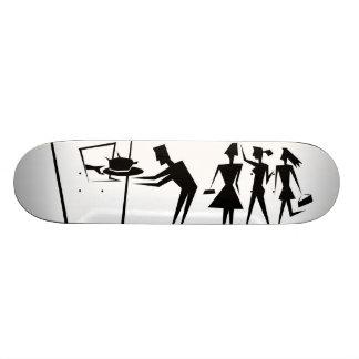 Chicken/Chips Skate board