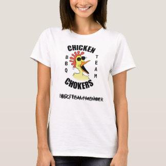 Chicken Chokers BBQ Team Womens Tshirt. T-Shirt