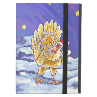 Chicken Christmas iPad Air Cases
