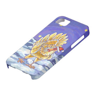 Chicken Christmas iPhone SE/5/5s Case
