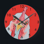 "Chicken clock<br><div class=""desc"">This chicken will remind you what time it is.</div>"