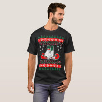 Chicken Coop Ugly Christmas Sweater Tshirt