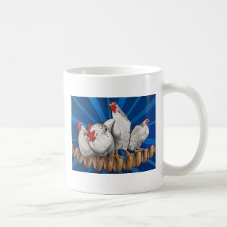 """Chicken Cordon Bleu"" Classic White Coffee Mug"